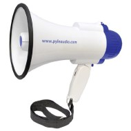 Pyle-PMP38R-30-Watts-Professional-Lithium-Rechargeable-Batteries-Megaphone-Bullhorn-with-Siren-and-Record-Function-0