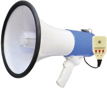Pyle-PMP59IR-50-Watts-Professional-Rechargeable-Lithium-Battery-Megaphone-with-Talk-and-SirenAux-In-for-All-MP3iPod-Players-0