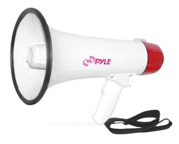 Pyle-Pro-PMP40-Professional-MegaphoneBullhorn-with-Siren-and-Handheld-Mic-0