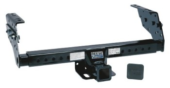 Reese-Towpower-37042-Class-IIIIV-2-Square-Tube-Multi-Fit-Receiver-with-Hitch-Plug-Cover-0