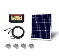 Renogy-Solar-Starter-Kit-50W-50W-Mono-Solar-Panel-+-5Amp-Charge-Controller-+-20-MC4-Solar-Extention-Cables-+-Unique-and-Duable-Z-Mounting-Bracket-0