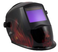 Rhino-LARGE-VIEW-Auto-Darkening-Welding-Helmet-Hood-Mask-Battery-and-Solar-Combo-Inferno-RH15-0