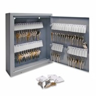 S.P.-Richards-Company-Secure-Key-Cabinet-10-x-3-x-12-Inches-60-Keys-Gray-SPR15602-0