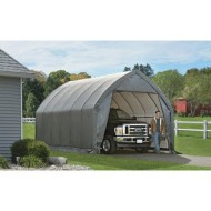 ShelterLogic-Garage-and-Shelter-Series-SUV-and-Truck-Garage-In-A-Box-Gray-13-x-20-x-12-Feet-0