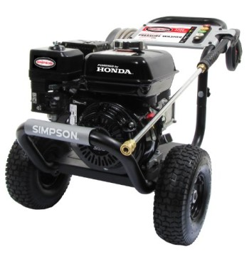 Simpson-PS3228-S-PowerShot-3200-PSI-2.8-GPM-Honda-GX200-Engine-Gas-Pressure-Washer-0