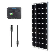Solar-Panel-Bundle-100W-Monocrystalline-100W-Solar-Panel-+-30A-Charge-Controller-+-MC4-Solar-Adaptor-Cable-0