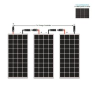Solar-Panel-Starter-Kit-300W-Mono3pc-100W-Solar-Panel-UL-Listed+20-Solar-cable+PWM-30A-Charge-Controller+3-sets-Z-Brackets+2-Pairs-MC4-Branch-Connectors-0-1