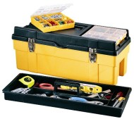 Stack-On-GMY-26RPS4-26-Inch-Deluxe-Professional-Tool-Box-with-Removable-Parts-Storage-Boxes-BlackYellow-0-0