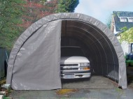 Storage-Solutions-IS11499HP-Lawn-Garden-Storage-Shelter-8-by-8-Feet-0-0