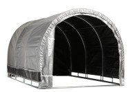 Storage-Solutions-IS11499HP-Lawn-Garden-Storage-Shelter-8-by-8-Feet-0