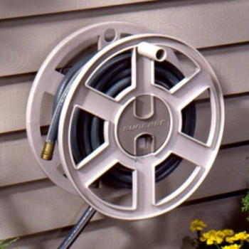Suncast-SWA100-100-Foot-Garden-Hose-Capacity-Wall-Mounted-Sidetracker-Hose-Reel-Taupe-0