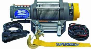 Superwinch-1145220-Terra-45-ATV-Utility-Winch-4500lbs2046kg-Rating-0