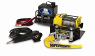 Superwinch-1331200-UT3000-12-VDC-winch-3000lb1360-kg-with-mount-plate-Roller-Fairlead-12-remote-0