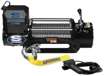 Superwinch-1585202-LP8500-Winch-Gen-II-12-VDC-8500lbs3856kg-steel-hawse-handheld-remote-0