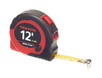 TEKTON-71951-12-Feet-by-12-Inch-Tape-Measure-0