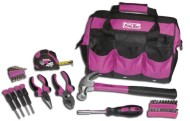 The-Original-Pink-Box-PB30TBK-12-Inch-Tool-Bag-and-30-Piece-Tool-Set-Pink-0