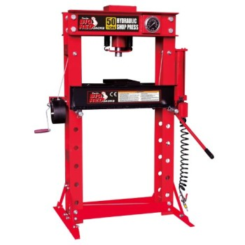 Torin-TRD55002-Shop-Press-with-Gauges-50-Ton-Capacity-0