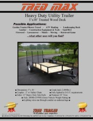Tred-Trailer-Heavy-Duty-Wood-Deck-Trailer-5×10-with-14-Tires-0-0