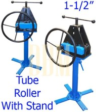 Tubing-Tube-Pipe-Roller-Rolling-Bender-Bending-Fabrication-With-Stand-1-12-0