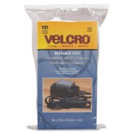 Velcro-Reusable-Self-Gripping-Cable-Ties-0.5-Inches-x-8-Inches-Long-Black-100-Ties-per-Pack-91140-0