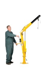 Vestil-WTJ-2-Winch-Operated-Truck-Jib-Crane-Welded-Steel-1000-lbs-Retracted-Capacity-56-Overall-Height-Yellow-0-2