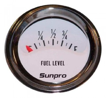 1-12-Inch-Mini-Fuel-Level-Gauge-White-Chrome-Bezel-Sunpro-CP8109-0