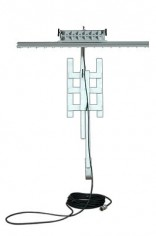 100-Watt-Explosion-Proof-LED-Light-on-Adjustable-Rail-Ladder-Scaffold-Bracket-Mount-0-0