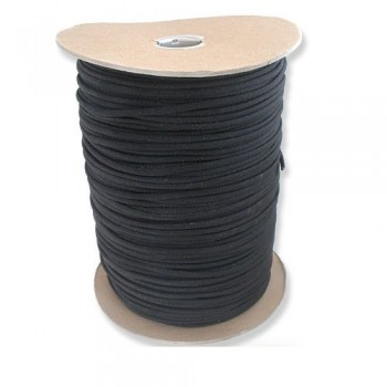 1000-Foot-Black-Parachute-Cord-Paracord-Type-III-Military-Specification-550-0