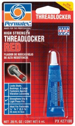 12-Pack-Permatex-27100-High-Strength-Threadlocker-RED-6-ml-Tube-271-0