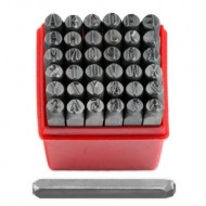 14-Professional-36pc-Letter-Number-Stamp-Punch-Set-6mm-Hardened-Steel-Metal-Wood-Leather-0