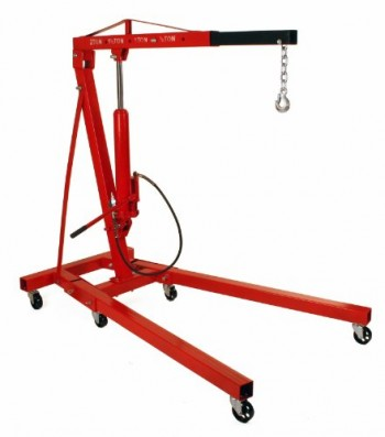 2-Ton-Folding-Air-Hydraulic-Cherry-Picker-Shop-Press-Engine-Crane-Hoist-Lift-0
