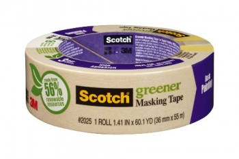 3M-Scotch-2025-36C-141-Inch-by-601-Yards-Masking-Tape-for-Basic-Painting-1-Roll-0
