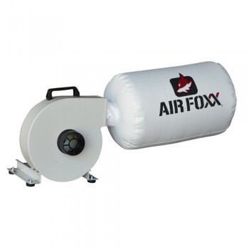 Air-Foxx-Kufo-Seco-UFO-40H-Wall-Mount-Dust-Collector-1HP-653-CFM-Bag-Dust-Collector-0