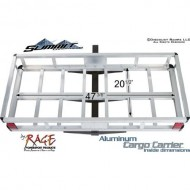 Aluminum-Hitch-Cargo-Carrier-500-lb-Capacity-with-Anti-Tilt-and-58-Hitch-Pin-0-4