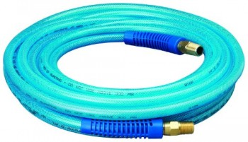 Amflo-12-25E-Blue-300-PSI-Polyurethane-Air-Hose-14-x-25-With-14-MNPT-Swivel-Ends-And-Bend-Restrictor-Fittings-0