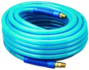 Amflo-13-50AE-Blue-300-PSI-Polyurethane-Air-Hose-38-x-50-With-14-MNPT-Swivel-Ends-And-Bend-Restrictor-Fittings-0
