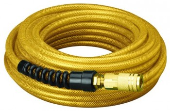 Amflo-16-50E-Gold-200-PSI-Premium-Polyurethane-Air-Hose-14-x-50-With-14-MNPT-Swivel-Ends-Bend-Restrictor-Fittings-Industrial-Coupler-And-Plug-0