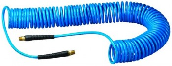 Amflo-24-50E-RET-Blue-120-PSI-Polyurethane-Recoil-Air-Hose-14-x-50-With-14-MNPT-Swivel-Ends-And-Bend-Restrictor-Fittings-0