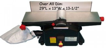 Bench-Top-6-Wood-Jointer-Joiner-Planer-1-12hp-10000rp-0