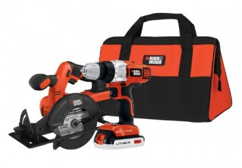 Black-Decker-BDCD220CS-20-volt-Max-DrillDriver-and-Circular-Saw-Kit-0