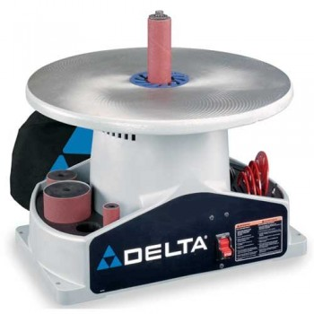 DELTA-SA350K-Shopmaster-Boss-14-Horsepower-1724-RPM-Bench-top-Spindle-Sander-with-Complete-Spindle-Sander-Set-0