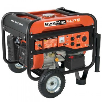DuroMax-Elite-MX4500E-4500-Watt-7-HP-OHV-4-Cycle-Gas-Powered-Portable-Generator-With-Wheel-Kit-Electric-Start-0