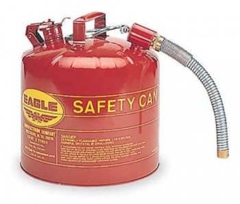 Eagle-U2-51-S-Red-Galvanized-Steel-Type-II-Gas-Safety-Can-with-78-Flex-Spout-5-gallon-Capacity-135-Height-125-Diameter-0