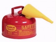 Eagle-UI-20-FS-Red-Galvanized-Steel-Type-1-Gasoline-Safety-Can-with-Funnel-2-gallon-Capacity-95-Height-1125-Diameter-0