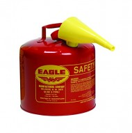 Eagle-UI-50-FS-Red-Galvanized-Steel-Type-I-Gasoline-Safety-Can-with-Funnel-5-gallon-Capacity-135-Height-125-Diameter-0