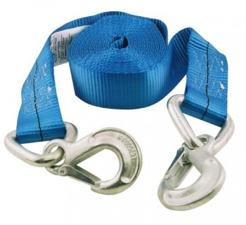 Erickson-59301-Blue-2-x-20-10000-lbs-Load-Capacity-Tow-Strap-with-Forged-Safety-Snap-Hook-0