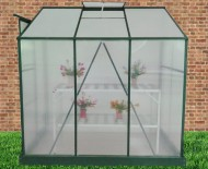 Exaco-Trading-GH-L64G-Bio-Star-Pioneer-Lean-To-Greenhouse-4-Feet-by-6-Feet-0-1