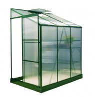 Exaco-Trading-GH-L64G-Bio-Star-Pioneer-Lean-To-Greenhouse-4-Feet-by-6-Feet-0