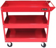 Excel-TC301A-Red-3-Tray-Rolling-Metal-Tool-Cart-Red-0