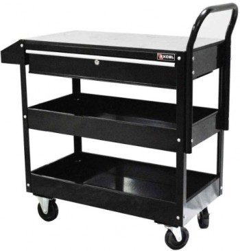 Excel-TC301C-Black-36-Inch-Steel-Tool-Cart-Black-0